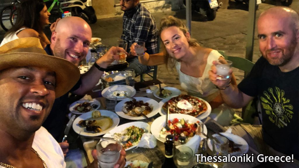 Our local hosts in Thessaloniki took us to Negroponte (I highly recommend you go!)