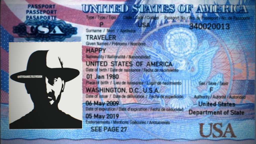 The passport of a happy traveler!