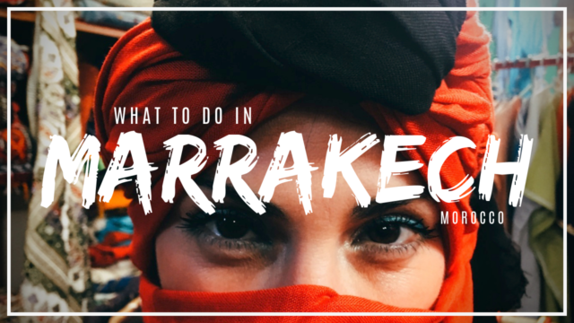 Visit Marrakech for markets, mint tea, and rooftop views!