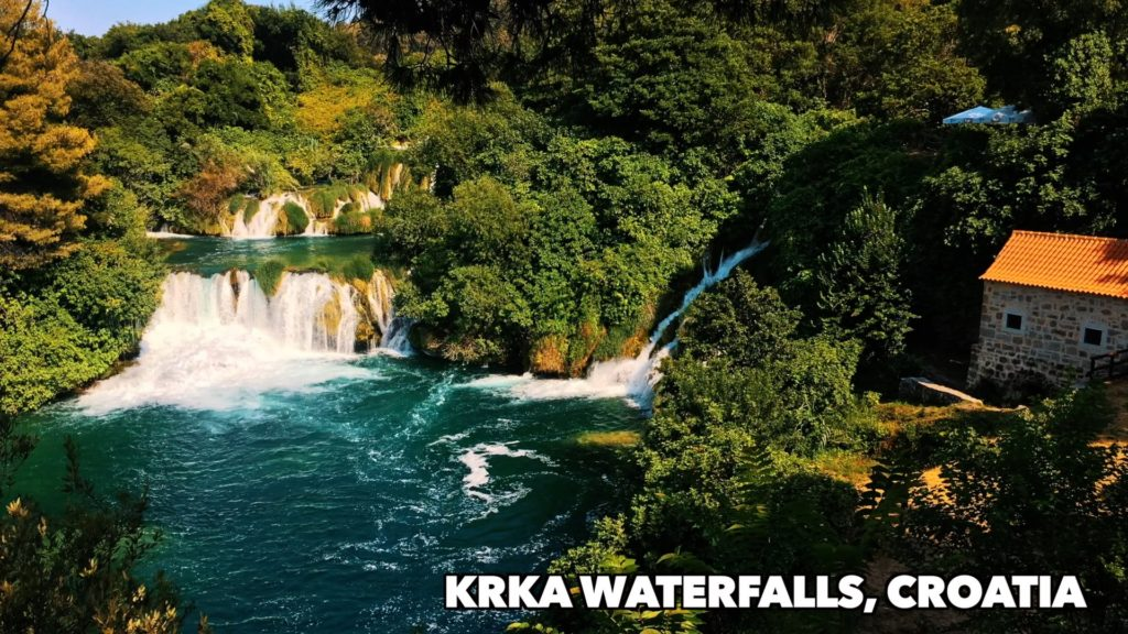 If you visit Croatia, you ahve to see the waterfalls at Krka National Park!