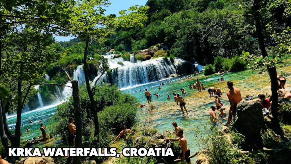 Krka National Park is known for its waterfalls, but there's so much more to do! Pictured: Skradinski Buk