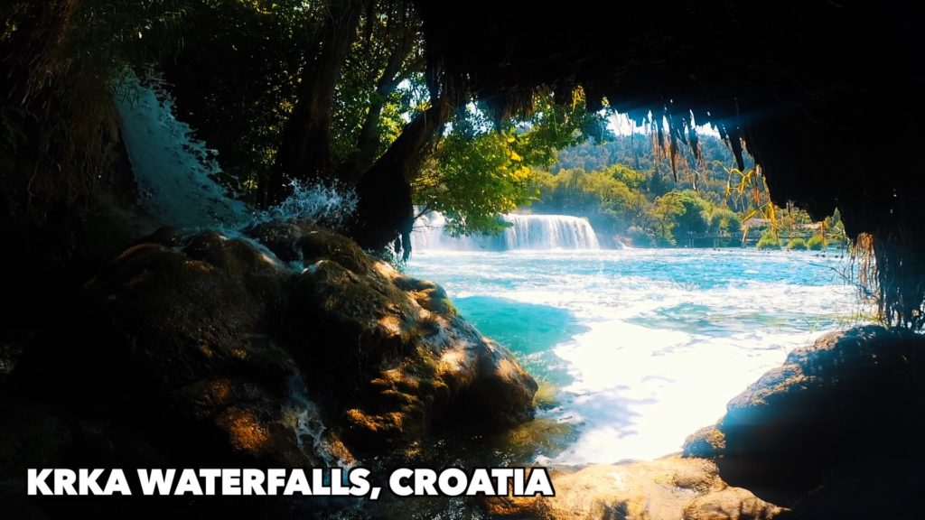 Swim in the waterfalls at Krka National Park