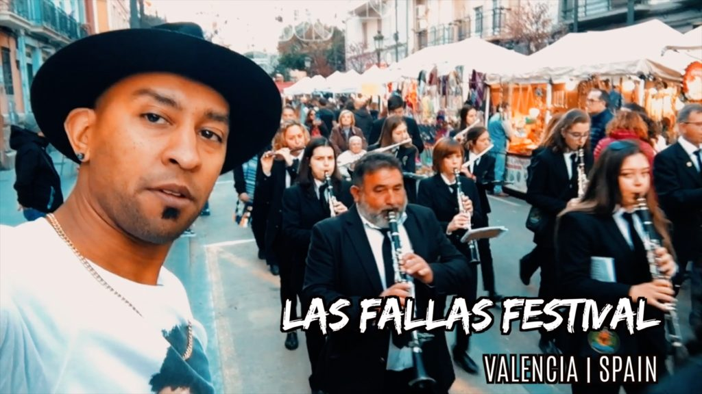 Watch the bands march through Valencian streets during Las Fallas!