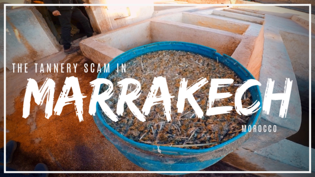 Visiting tanneries in Marrakech - is it worth it?