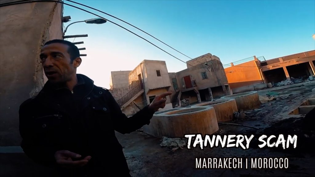 Finding a Marrakech tannery tour isn't difficult - it's just not free