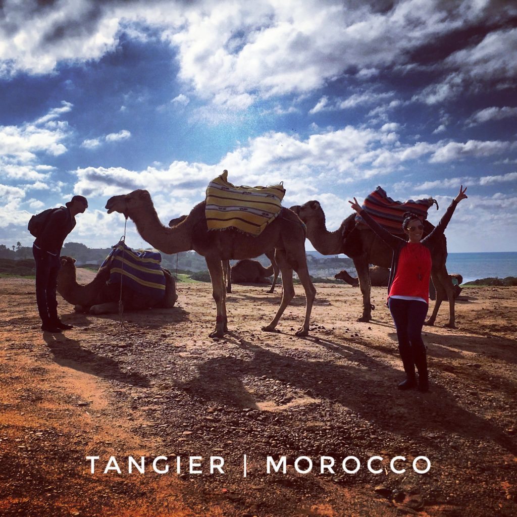 Riding camels has always been on my bucket list, and I checked it off in Tangier, Morocco!