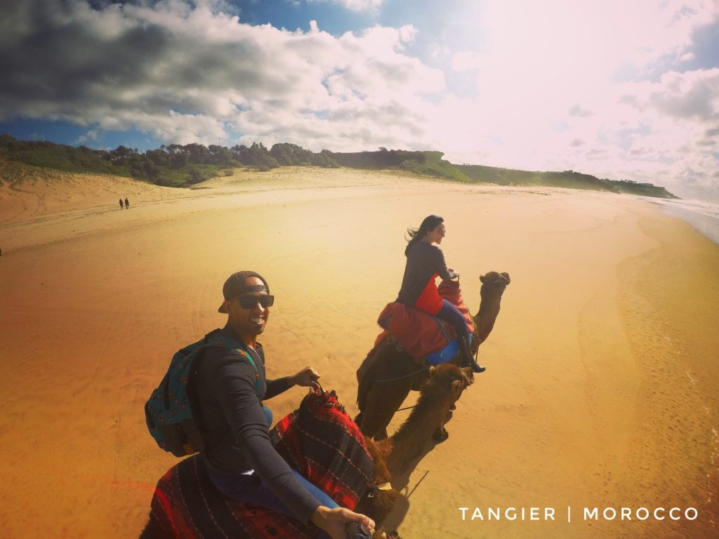 Camel rides have to be on your list of things to do in Tangier - it's just a great experience!