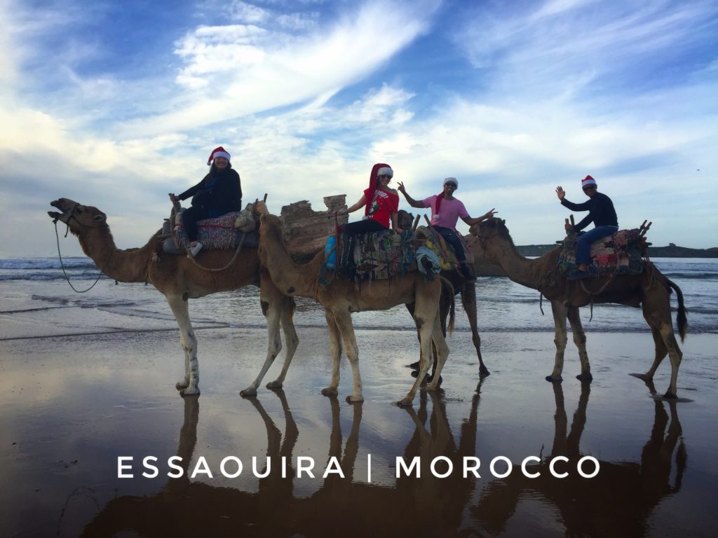 Riding camels on Christmas in Essaouira: an unforgettable experience