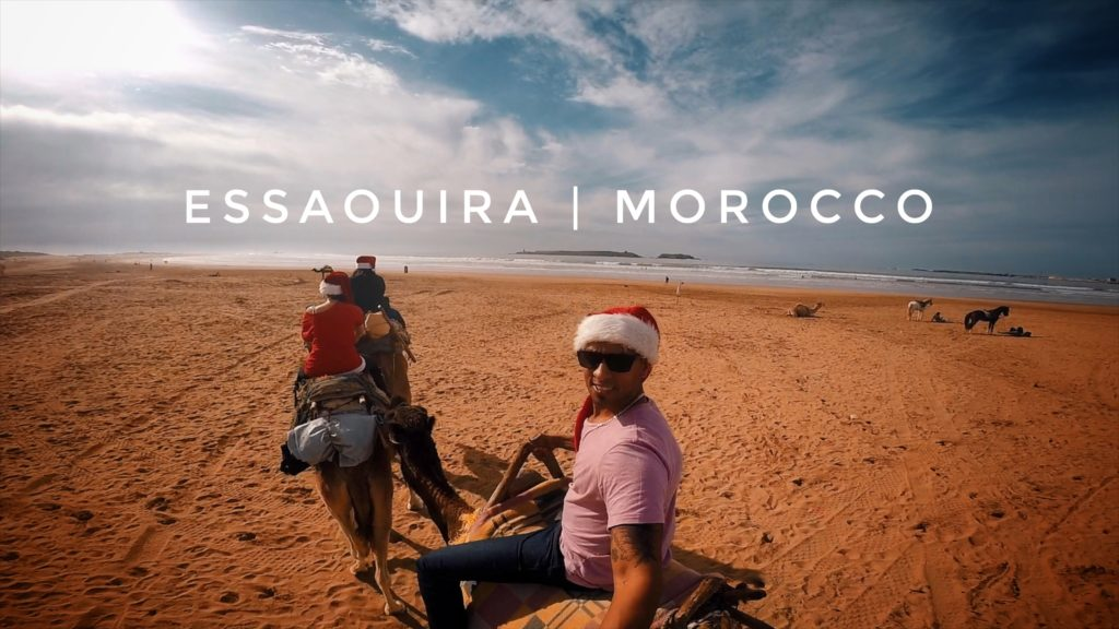 If you go to Essaouira from Marrakech for a day trip, be sure to book a camel ride!