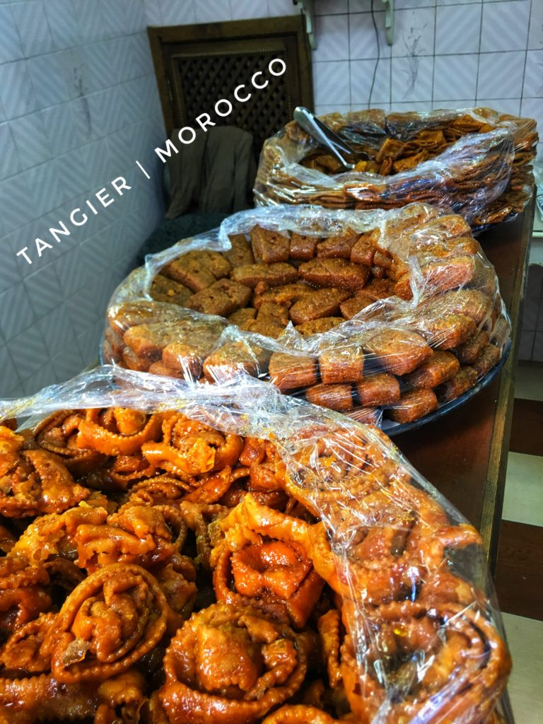 Stop by any of the bakeries for some Moroccan cookies!