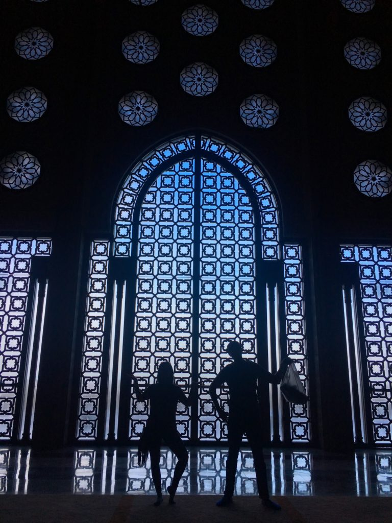 You have to visit the Hassan II Mosque in Casablanca!