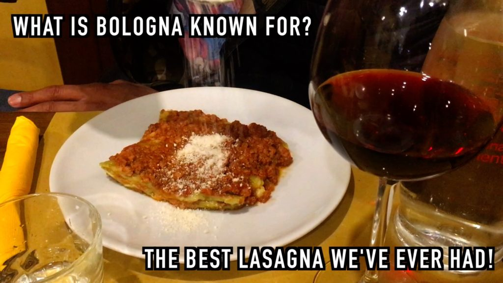 You have to make time to try lasagna in Bologna! It's way better than your microwave Stouffer's