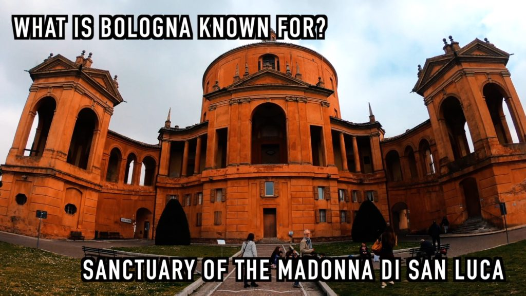 The Sanctuary of the Madonna di San Luca has 666 arches - pretty holy, don't you think?