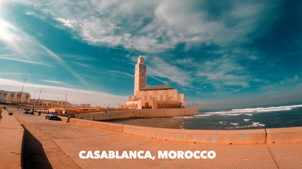 Whether you walk along the pier or take a tour inside, the Hassan II Mosque in Casablanca is a must-see