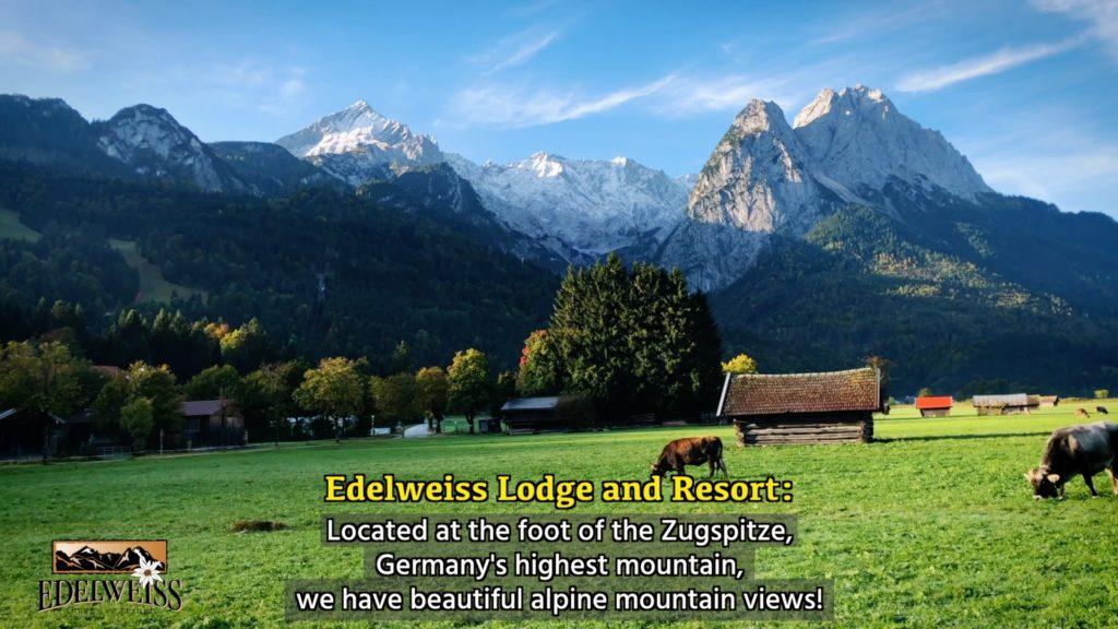 Take in the alps and fresh air when you visit Garmisch-Partenkirchen!