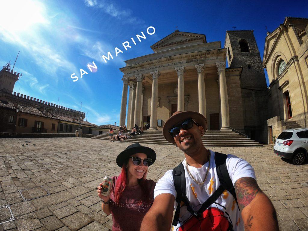 The Basilica di San Marino is the main church in the microstate