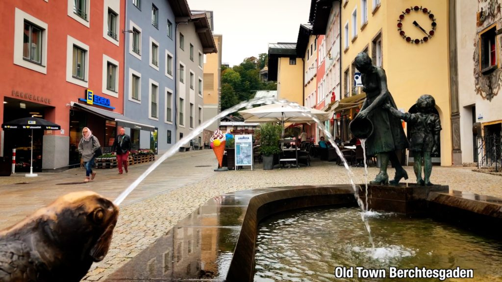 Visit the cafes and restaurants in Berchtesgaden, Germany