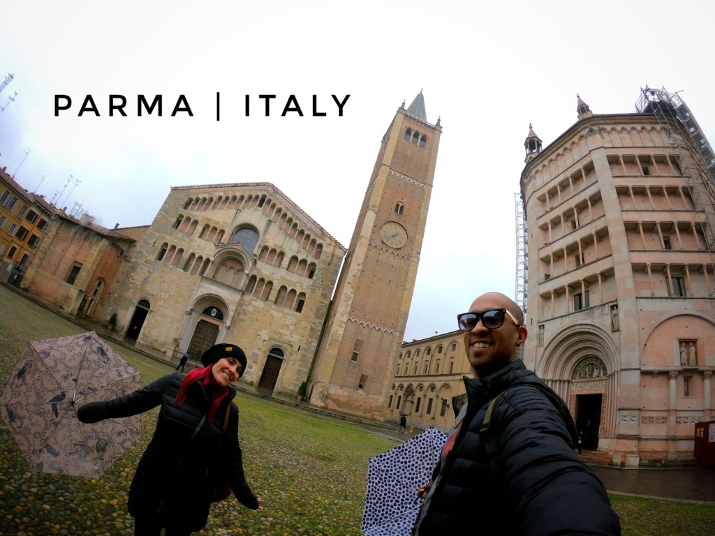 Parma is an easy Bologna day trip - don't forget to eat some Parma ham and cheese!