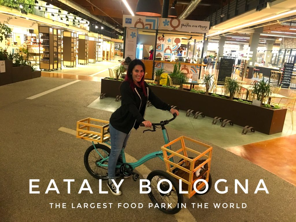 At FICO Eataly World, you can easily get around on these three-wheel bikes! It's definitely one of the best (and easiest) Bologna day trips you can take
