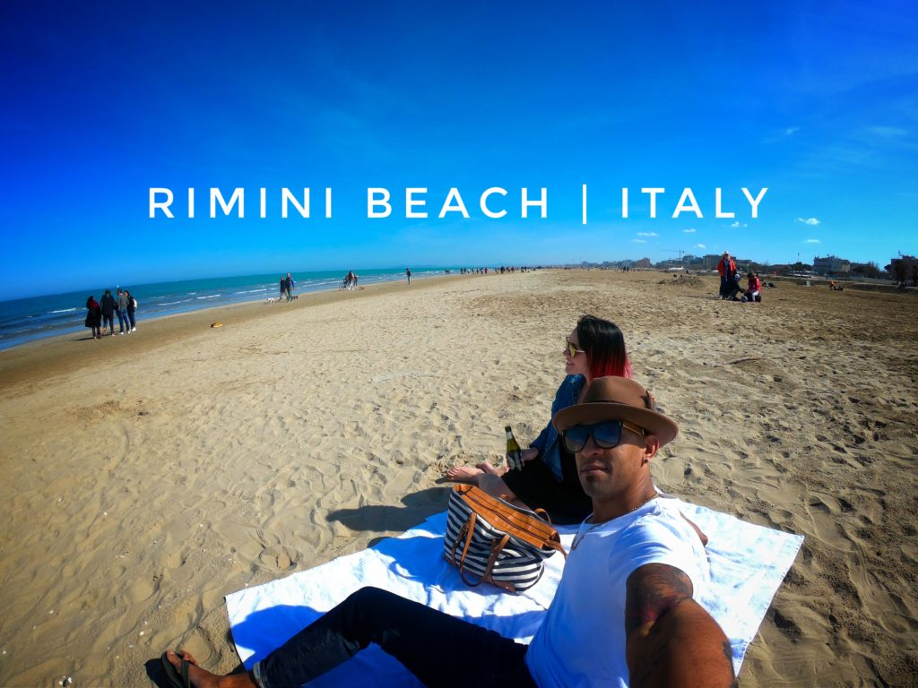 Visiting Rimini Beach is one of the best day trips from Bologna. It's beautiful, relaxed, and not too crowded