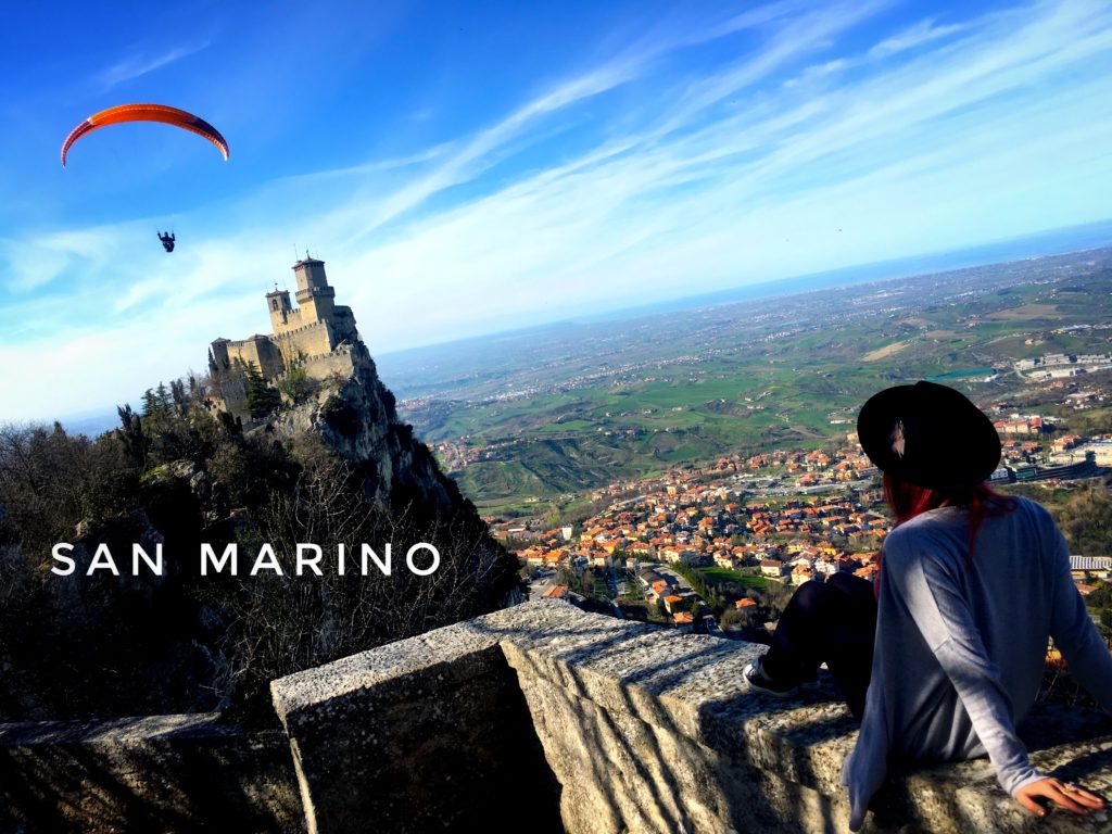 San Marino is a micro state near Bologna. Visit for beautiful views!