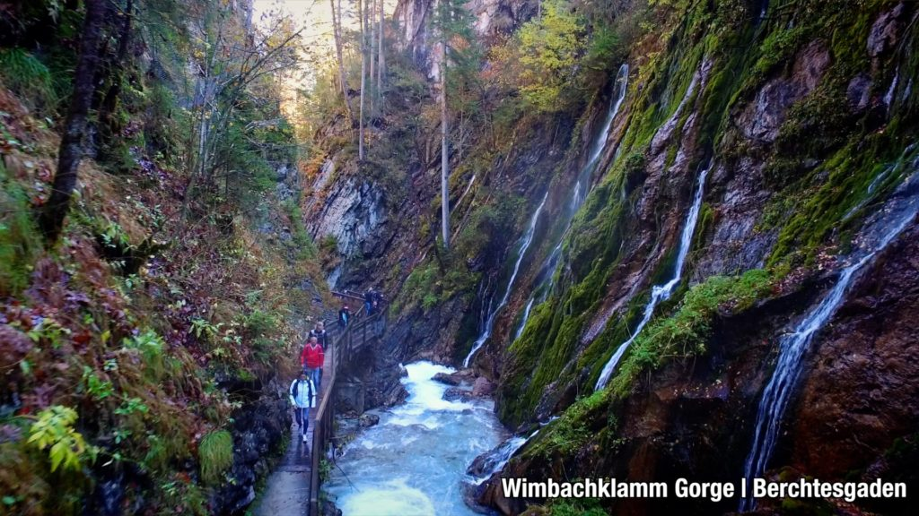 Wimbachklaam Gorge is a beautiful, easy hike