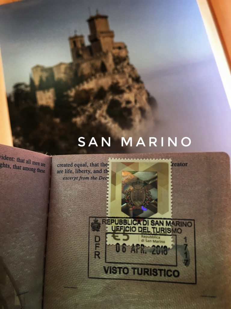 Add another country to your passport in San Marino!