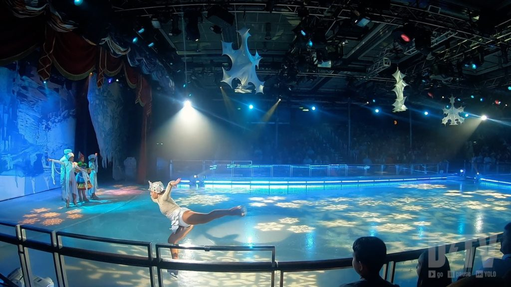 Take the family to see a performance on ice when cruising with Royal Caribbean Cruise!