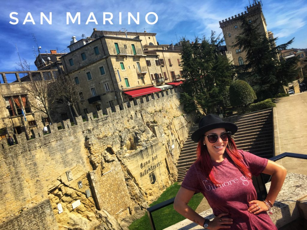 San Marino is a microstate surrounded by Italy, and its capital is the City of San Marino