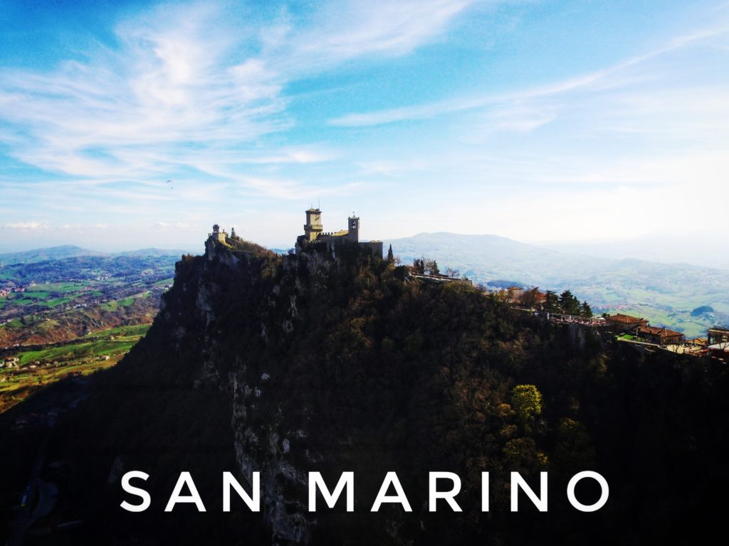 The three towers of San Marino are iconic!
