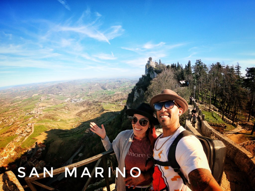 Visiting the Three Towers is easy once you take the bus into the City of San Marino!