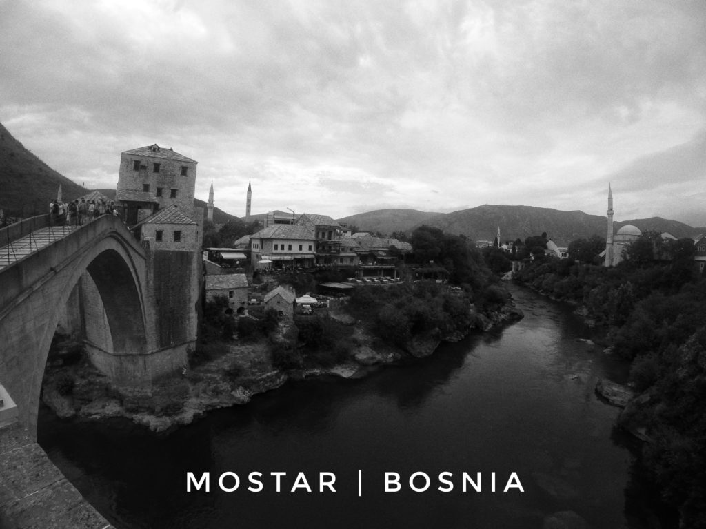 explore a variety of architecture when you visit Mostar!