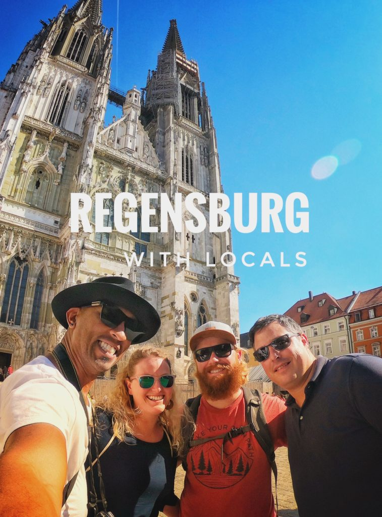 The Regensburg Cathedral is a great photo spot!