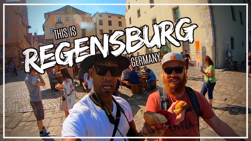 Are you an American living in Germany? You should definitely visit Regensburg for history, culture, food, and a nice bike ride!