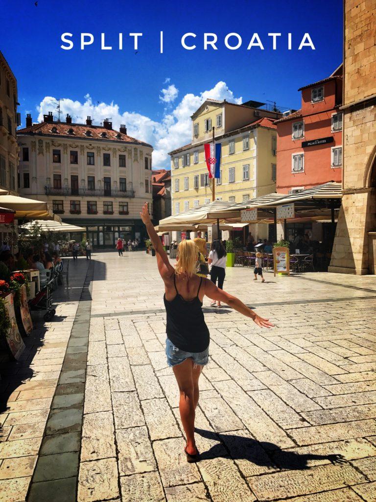 Split is a Croatian city on the Adriatic Sea