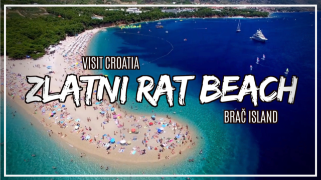 Learn more about what to do at Zlatni Rat Beach with DTV Daniel Television