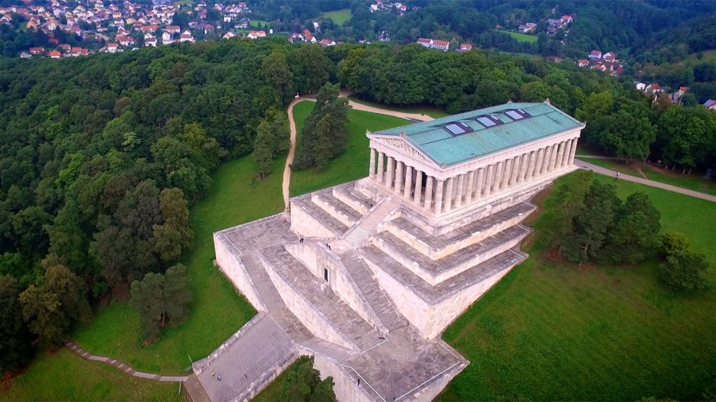 Walhalla Regensburg is inspired by the Parthenon - can you tell? But it's not a temple for the gods, and it's not quite Odin's great hall either. To learn more, visit dtvdanieltelevision.com