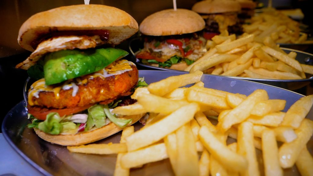 Anchos in Kaiserslautern serves up all kinds of burgers!