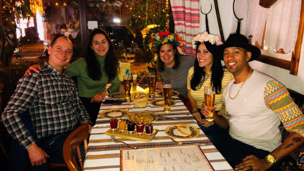 Korchma Taras Burba in Kiev is a great place to try authentic Ukrainian cuisine!