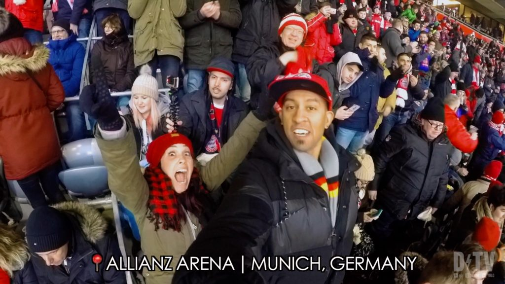 The crowd at an FC Bayern Muenchen game is WILD!