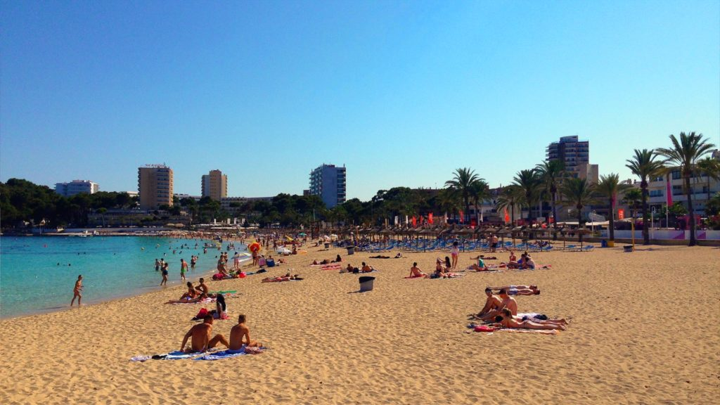Palma de Mallorca has stretches of beaches for you to enjoy! Check out our Mallorca Travel Guide at dtvdanieltelevision.com