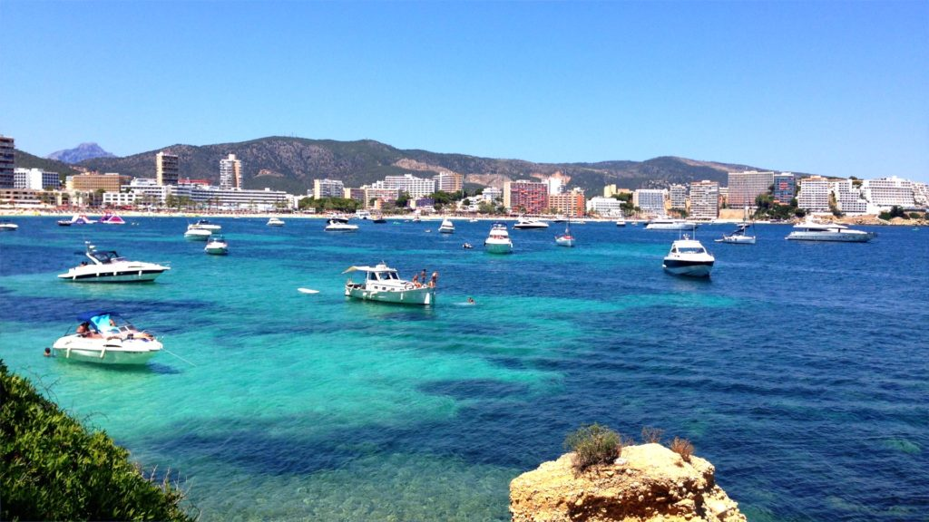 If you don't want to sit on the beach, you can enjoy a boat ride in Mallorca!