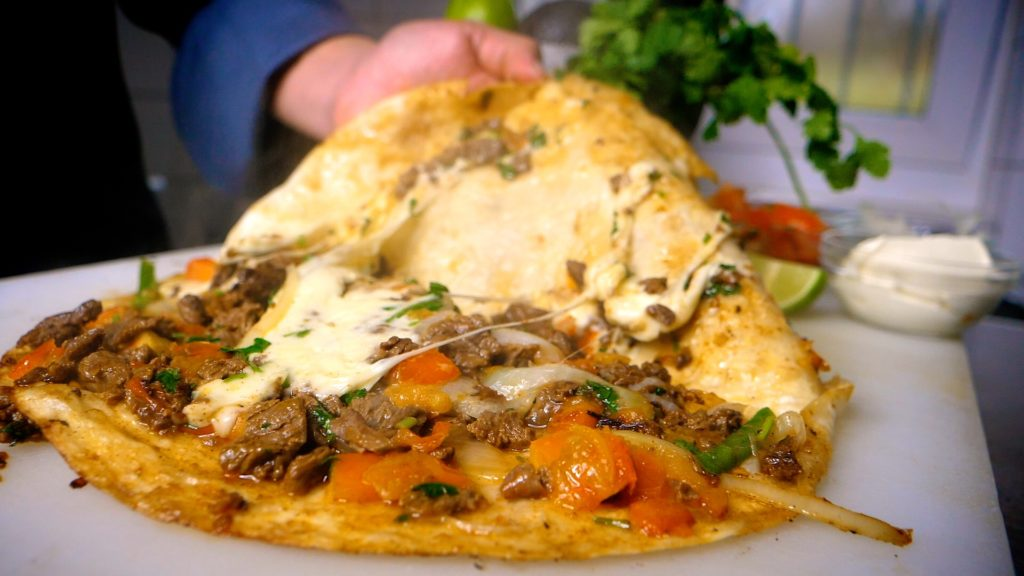 Get yourself a cheesy steak quesadilla at Fiesta Mexicana in K-Town Germany