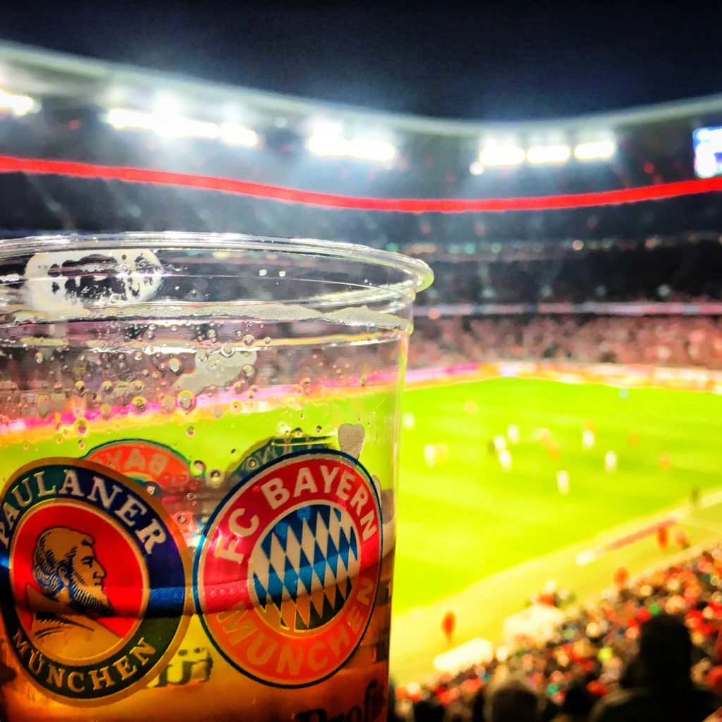 Beer and football - a perfect way to enjoy an evening in Bavaria!