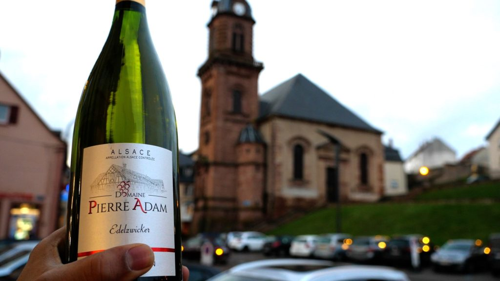 If you take a day trip from K-Town Germany to Bitche France, you have to pick up some wine!