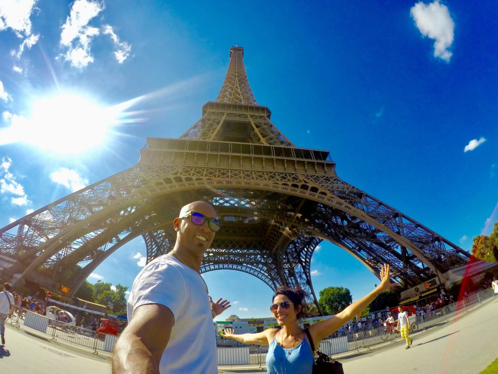 You can't spend your first time in Paris without visiting the Eiffel Tower! And there are great spots for photo ops all around
