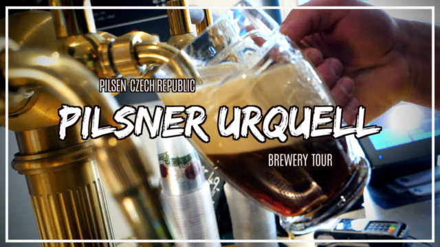Want to taste Czech Republic beer? Take the Pilsner Urquell brewery tour!