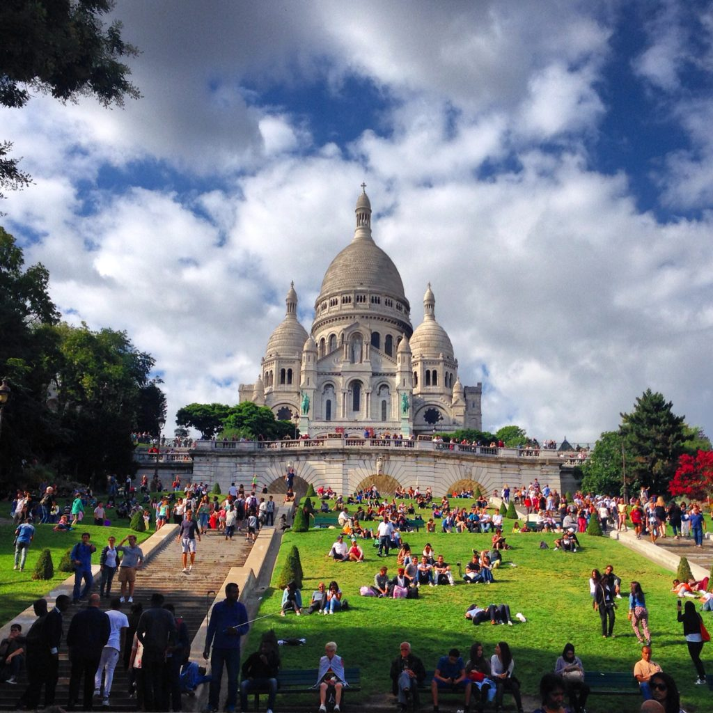 Sacre Coeur sits at the highest point in Paris - definitely worth a visit, at least for the views!