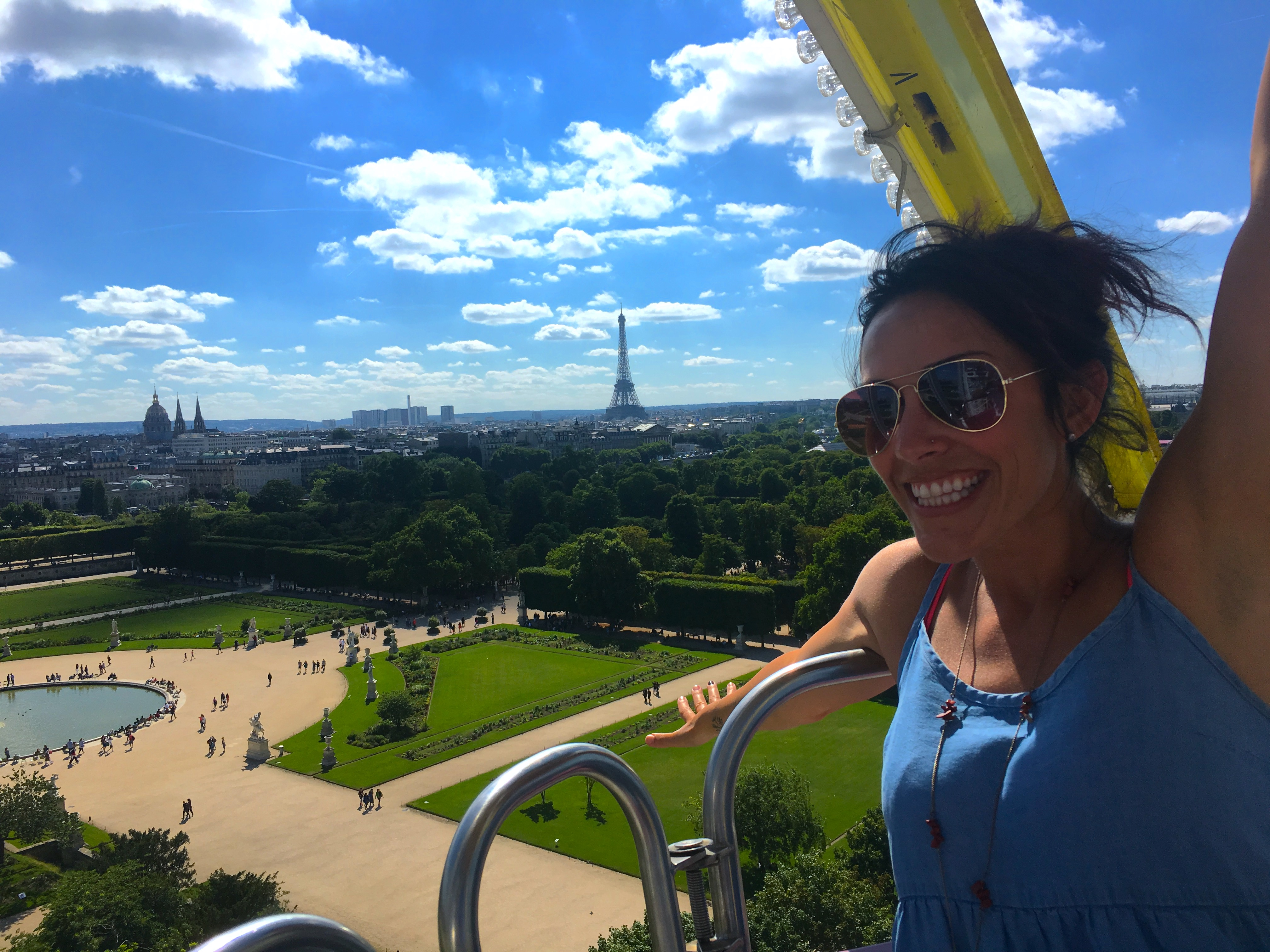 Ride the Ferris Wheel in Paris for amazing view of the city!