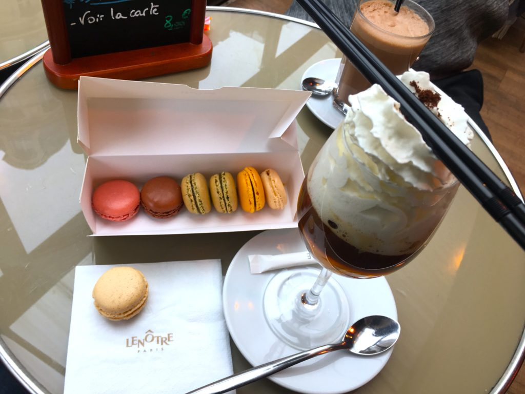 If it's your first time in Paris, you have to try the macarons! It's iconic, really